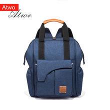 Рюкзак atwo для подгузников сумка ухода за ребенком модный дорожный
