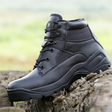 Men Delta Low Desert Boots Non-slip Wear Resistant Waterproof Military Tactical Boots High Quality Black Boots Botas De Hombre outdoor camping mountain high tube anti skid wear resistant shoe sneaker men tactical military ankle shock absorber desert boots