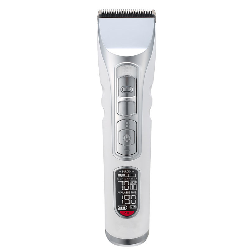 Hair Clipper Professional Hair Trimmer LCD Display Men Hair Clipper Rechargeable