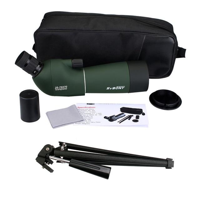Telescope +Tripod Soft Case for Birdwatching SV28 50/60/70mm 3 Types Spotting Scope Waterproof 5