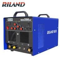 RILAND WSE250 TIG AC/DC Aluminum Tig/Stick Welder Square Wave Inverter Welding Equipment with Accessories Tools