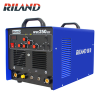 RILAND WSE250 TIG AC/DC Aluminum Tig/Stick Welder Square Wave Inverter Welding Equipment with Accessories Tools