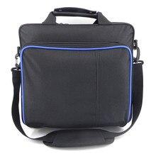 PS4/Sytem PS4 Pro Jogo Fino Saco Caso Proteger Ombro Carry Bag Bolsa de Lona tamanho Original para PlayStation 4 PS4 Pro Console