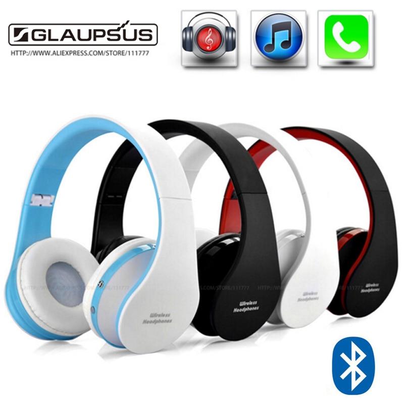 NX-8252 Stereo Casque Audio Mp3 Bluetooth Headset Wireless Headphones Earphone Head set Phone for iPhone 6 For Samsung Xiaomi