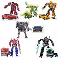Original Aleación Transformation4 Robot Figura de Acción Juguetes Coche Transformación Robot Juguetes Clásicos para niños juguetes para los regalos de Juguetes