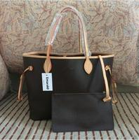 a8d37988dc04 Лидер продаж 2019 Новая мода neverfull женский GM/мм сумки 1:1 качество  кожаная