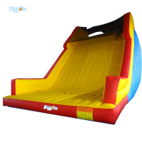 Giant Inflatable Fun City Jumping Water Slide For Commercial Use