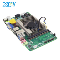 XCY все в одном ПК Материнская плата Intel Core i7 7500U HDMI VGA LVDS 8xusb DDR4 mSATA SATA Mini PCI E WiFi BT 3,5 дюйма вставлять плата