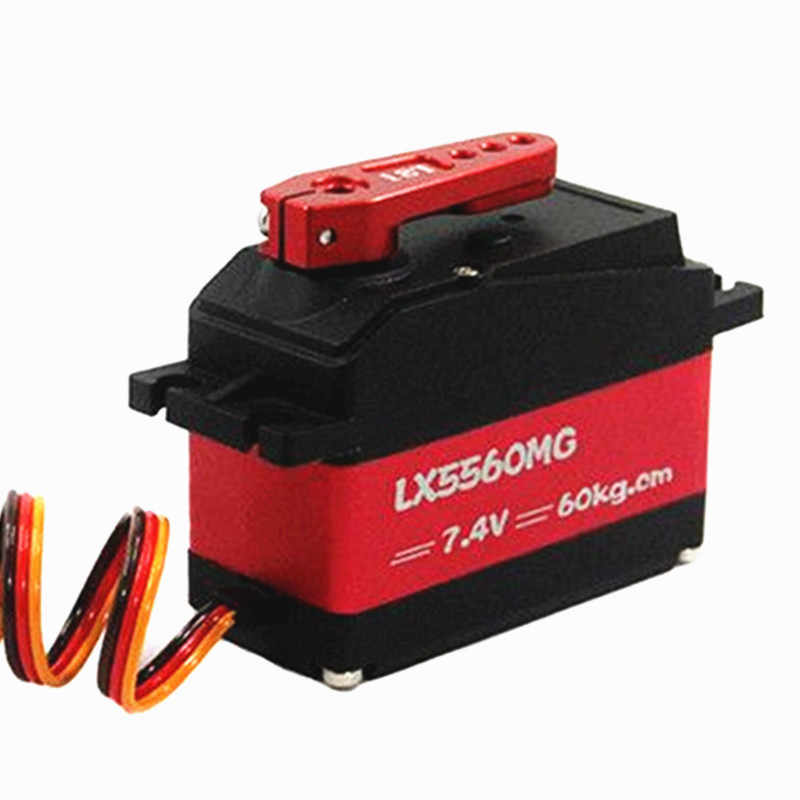 Waterdicht 60kg high torque LX5560MG SSG metal gear Digitale Servo met 18T Arm voor 1/5 Redcat Baja RC auto servo Robot ds5160