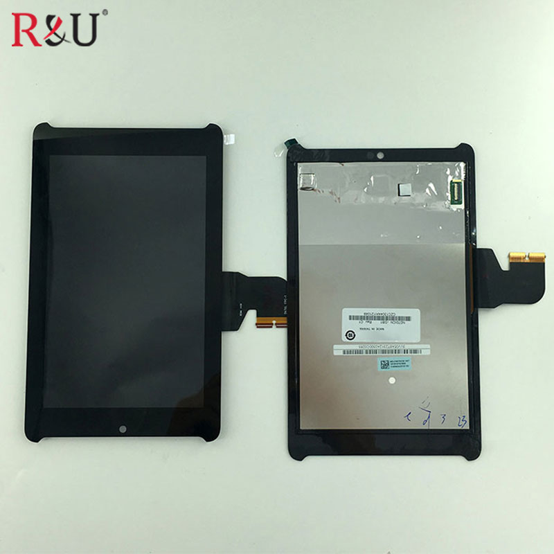 Used Parts lcd screen display + touch screen panel digitizer assembly replacement For Asus Fonepad 7 LTE ME372CG ME372 K00E asus fe375 lcd display touch screen assembly with frame replacement parts for asus fonepad 7 fe375 fe375cg me375 lcd screen