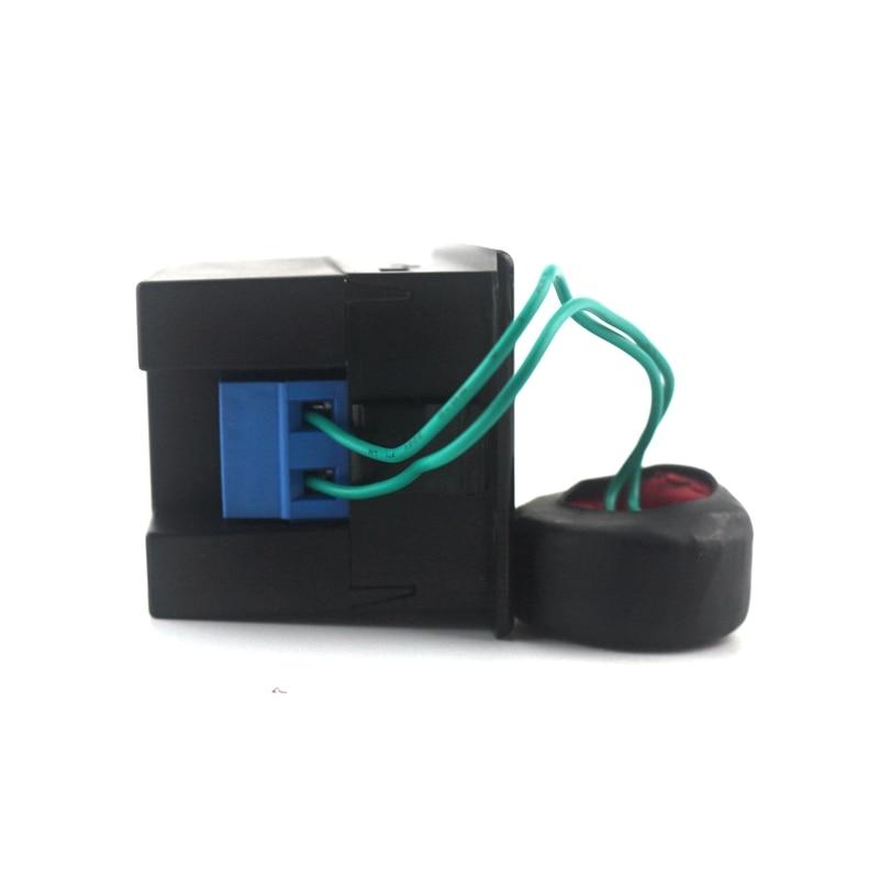 Digitális váltóáramú voltmérő Ampermérő Ampermeter AC - Mérőműszerek - Fénykép 3