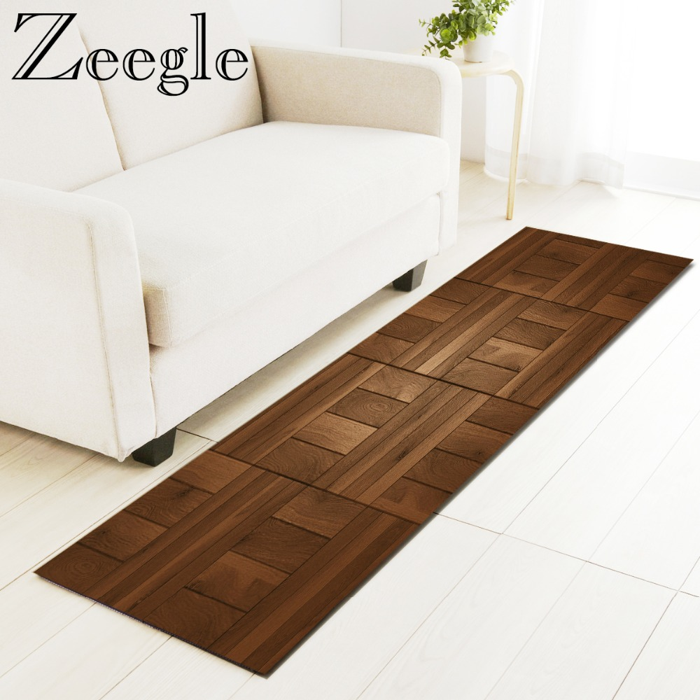 Zeegle Area Rug Wood Painting Floor Mat Kitchen Carpet