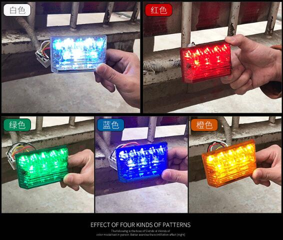 Higher star car/Truck/trailer side marker Led emergency lights,anti-collision warning lights,turn signal lights,waterproof
