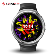 LEMFO  LES1 Smart Watch Phone support Android 5.1 MTK6580 1GB/16GB SIM card 3G Wifi bluetooth smartwatch for apple xiaomi phone