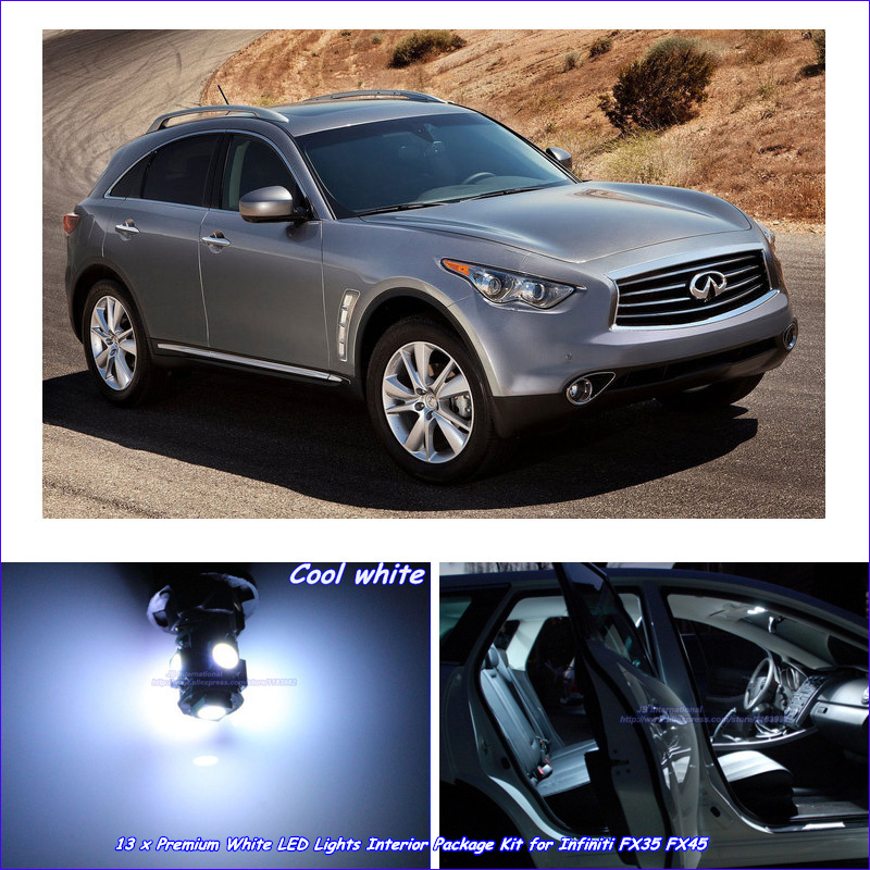 Infiniti Fx For Sale: Aliexpress.com : Buy Car Canbus LED Interior Lights Kit