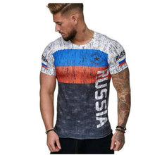 2019 new Russian flag jerseys men shirts,spain soccer jersey t shirtTop Quality Breathable SportWear iptv spain t-shirt