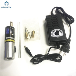 Phonefix Elektrische Lcd-scherm Oca Lijm Remover Schroevendraaier Verstelbare Snelheid Elektrische Glas Oca Lijm Verwijderen Spuit
