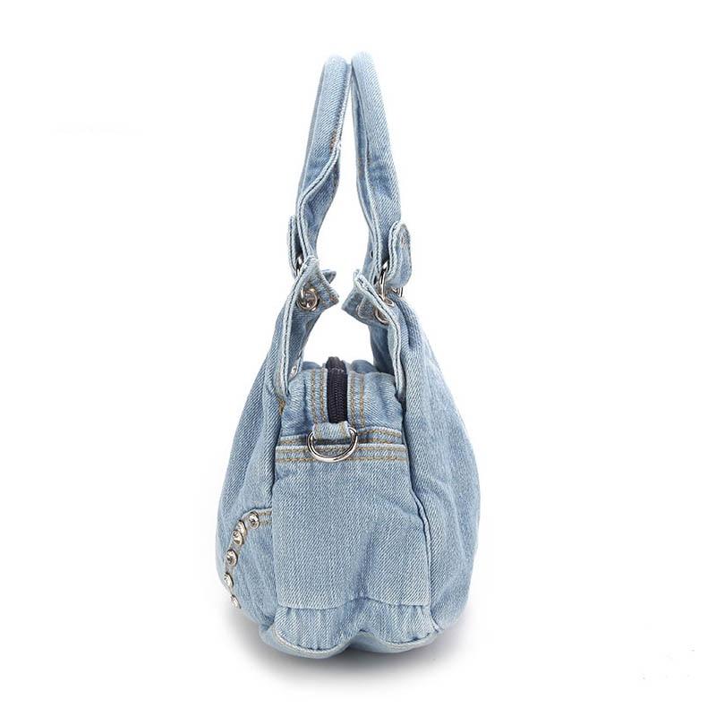 57f84676879e iPinee Fashion Women Denim Handbags Sweet High Quality Handbags With Diamond  Ladies Tote Bag Messenger Bags-in Top-Handle Bags from Luggage   Bags on ...