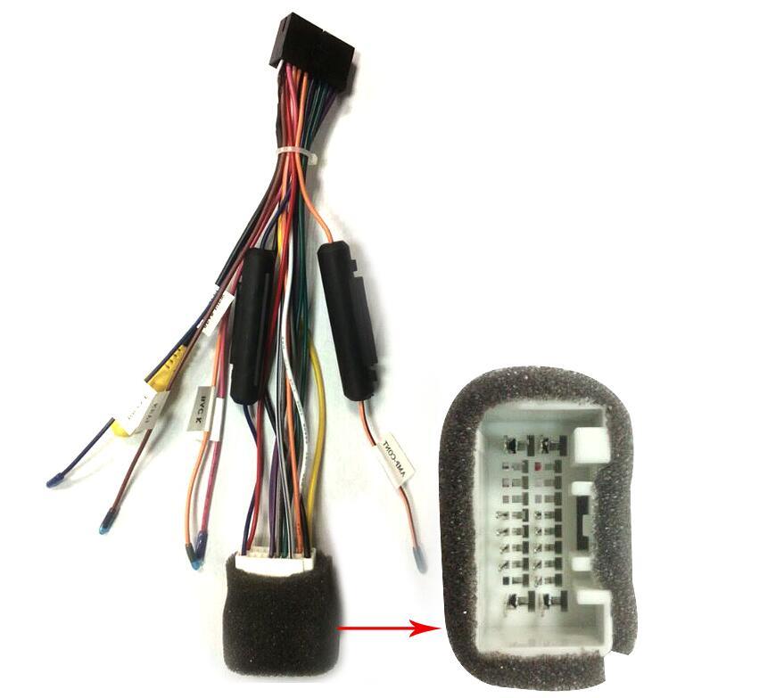 Online Shop JOYING MITSUBISHI CAR STEREO RADIO WIRE HARNESS CABLE