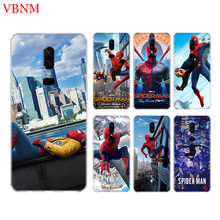 Spider-Man Far From Home Phone Back Case For OnePlus 7 Pro 6 6T 5 5T 3 3T 7Pro 1+7 Art Gift Patterned Customized Cases Cover