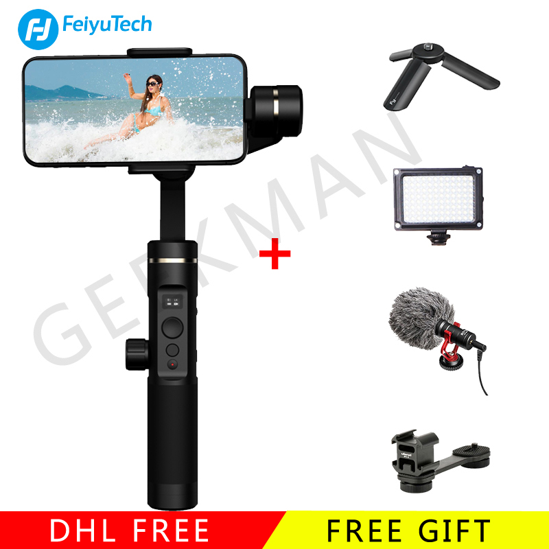 Feiyutech SPG 2 Smartphone Handheld 3 Axis gimbal Stabilizer for Iphone XS Sumsung Gopro Steadicam PK