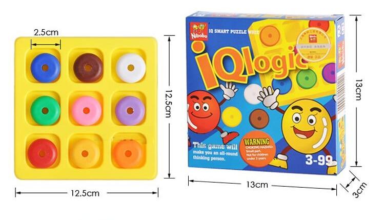 Kvaliteta IQ Logika Puzzle Mind Brainteaser Djeca Obrazovne zagonetke - Igre i zagonetke - Foto 4