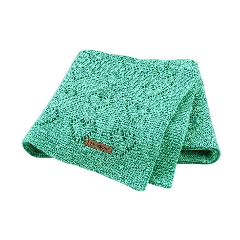 Cobertores do bebê de malha moda recém-nascido