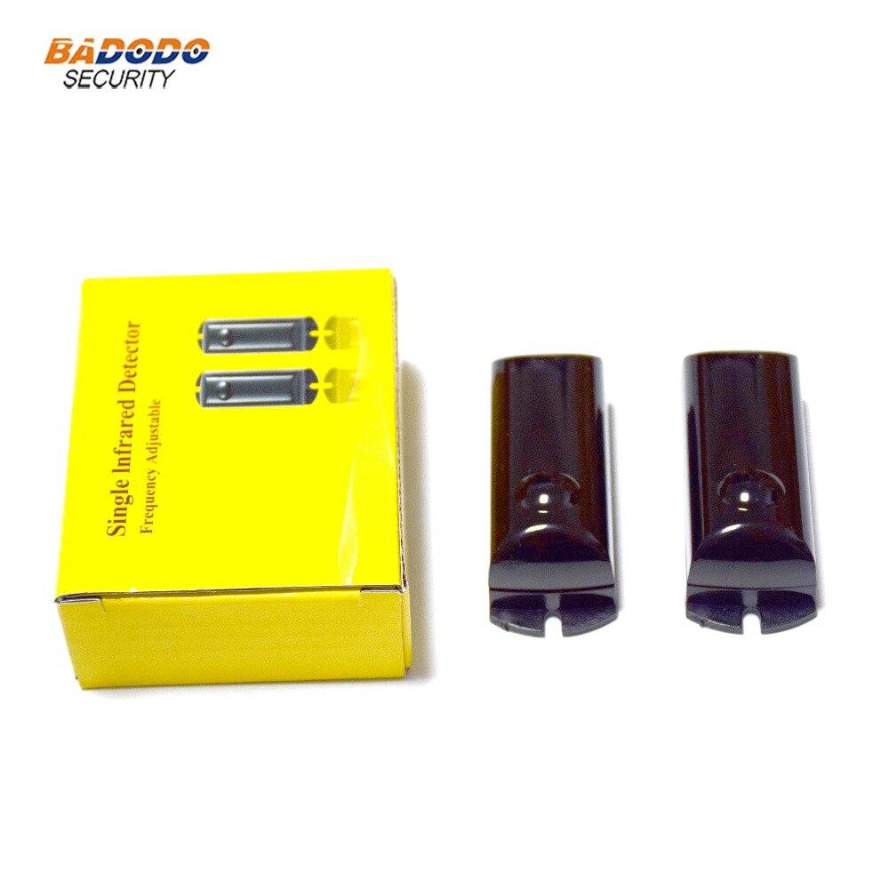 DC12V einzigen strahl einstellbarer frequenz Fotozelle Aktive Infrarot Strahl sensor detektor IR ABO-10F 15m automatische barriere zaun
