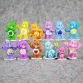 Gran 12 unids/lote care bears original Japonesa anime figura juguetes de los niños para la muchacha del muchacho