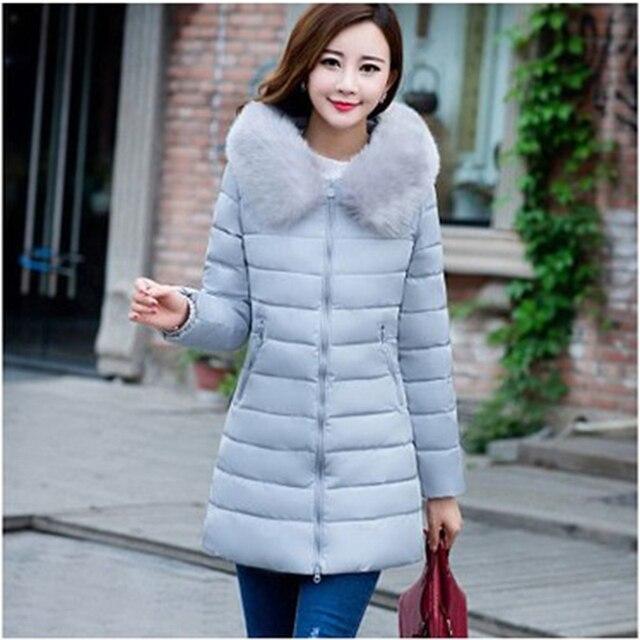 Plus Size 7XL 2018 Drop Shipping Winter Jacket Women Fur Hooded Parkas Slim Fashion Female Coats Jacket Winter Women Coats 5