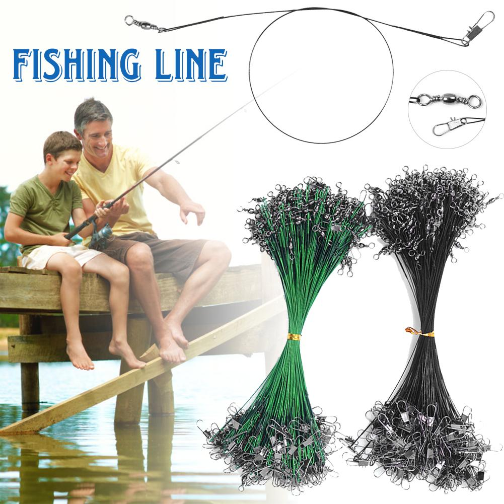 Outdoor Steel Fishing Line Outdoor Super Strong Fishing Line Outdoor Wear Resistant Anti Bite Fishing Line Angler Tool