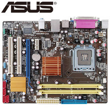 Asus P5QPL-AM placa base de escritorio G41 Socket LGA 775 para Extreme Quad Core 2 Duo Pentium D Celeron DDR2 8G u ATX Original utilizado(China)
