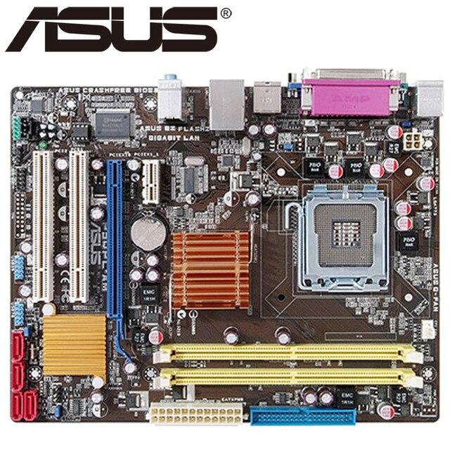 Asus P5QPL-AM рабочего Материнская плата G41 разъем LGA 775 для Core 2 Extreme Quad Duo Pentium D Celeron DDR2 8G u блок питания ATX оригинальная б/у