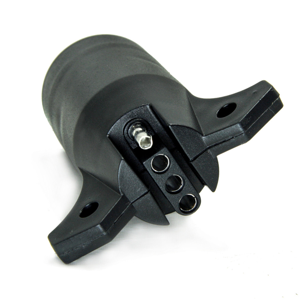 TIROL 7 Way Blade to 4 Way Pin Flat Trailer Wiring Adapter Trailer ...
