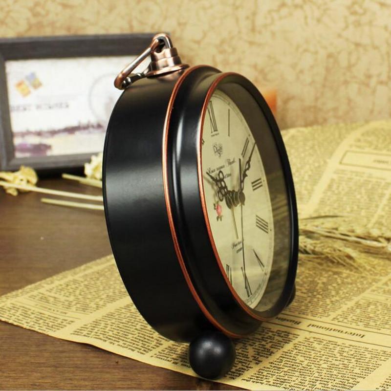 2016 Yeni 5,5 düym Retro Siqnal Saatı Masaüstün Sükutu Uşaq - Ev dekoru - Fotoqrafiya 3