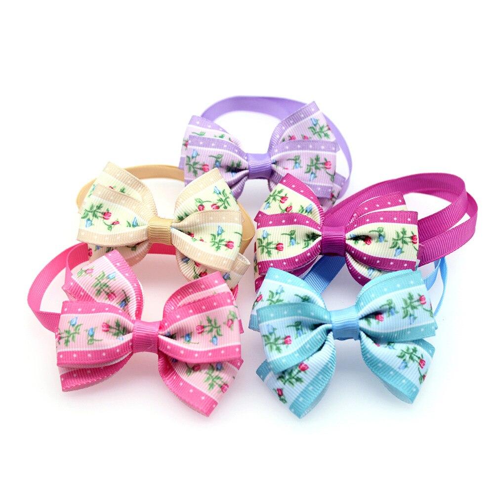 ⑥30 unids floret estilo doble arcos arco Corbatas lindo cuello ...