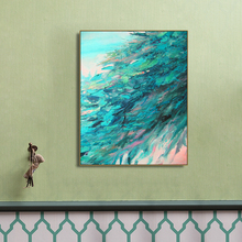 Blue Water Abstract Decorative Posters and Prints HD Canvas Painting Artwork Classic Home Wall Decor