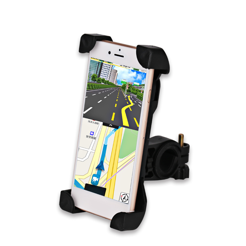 WATERWICH 360 Rotating Anti-Slip Universal Bicycle Bike Phone Holder Handlebar Clip Stand Mount Bracket For Mobile Cellphone