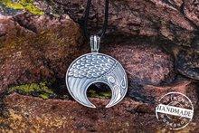 10pcs Slavic Lunula Woman's Necklace Antique Silver Handmade Lunula Pendant  Necklace Pagan Jewelry Norse
