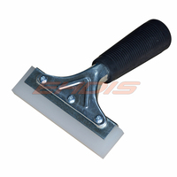 5 Square Edge Silicone Water Blade Squeegee For Shower Window And Car Glass Extra Thick Blade