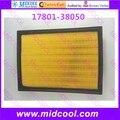 Free shipping High qulality Air Filter cabin filter non-woven fabrics  17801-38050 1780138050