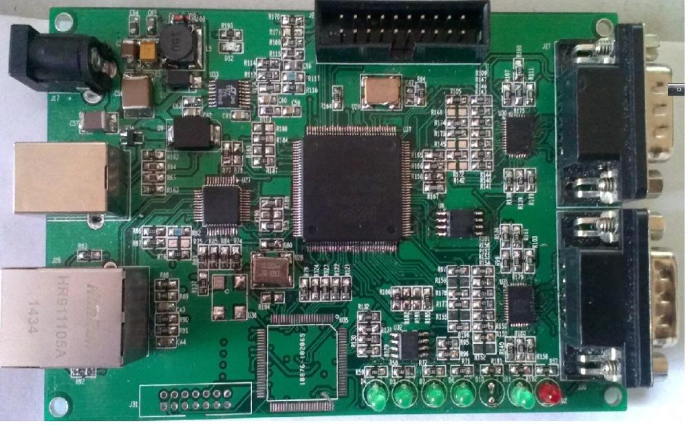 For HDLC Protocol Conversion Network Management NRZI NRZ Encoding Ethernet To Two Way High-speed Synchronous Serial Port