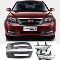 Geely Emgrand 7 EC7 EC715 EC718 Emgrand7 E7 Front LED Daytime Running Light Car Modification The