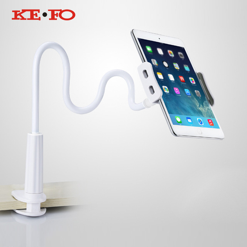 KeFo Tablet Lazy 360 Degree Flexible Arm Table Holder Stand Desktop Table Tablet Support Mount For Ipad 9.7 2017 Support tablet Price $7.69