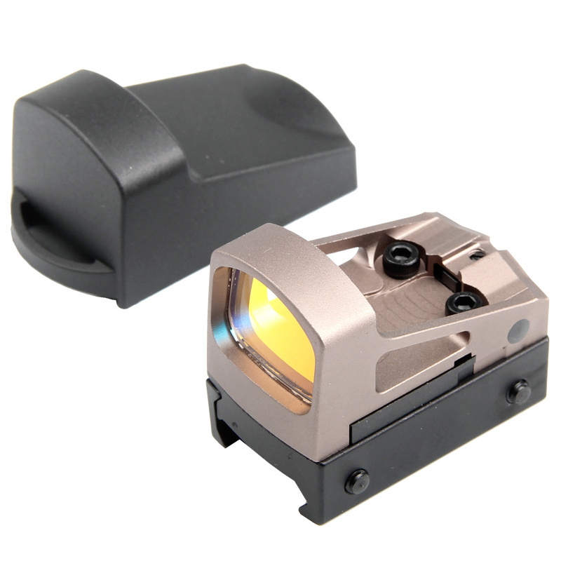 Tactical Mini RMS Reflex Red Dot Sight Rifle Scope Air Gun Glock Pistol Gun Scopes Hunting