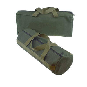 1pcs Durable Thicker Canvas Tool Pouch For Electrical Tool Storage Organizer Portable Instrument Case Tote Bag