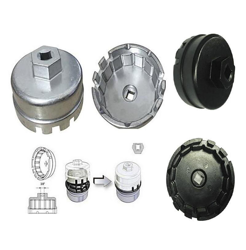 For Lexus Highlander Toyota RAV4 Camry Oil Filter Aluminum Cup Wrench