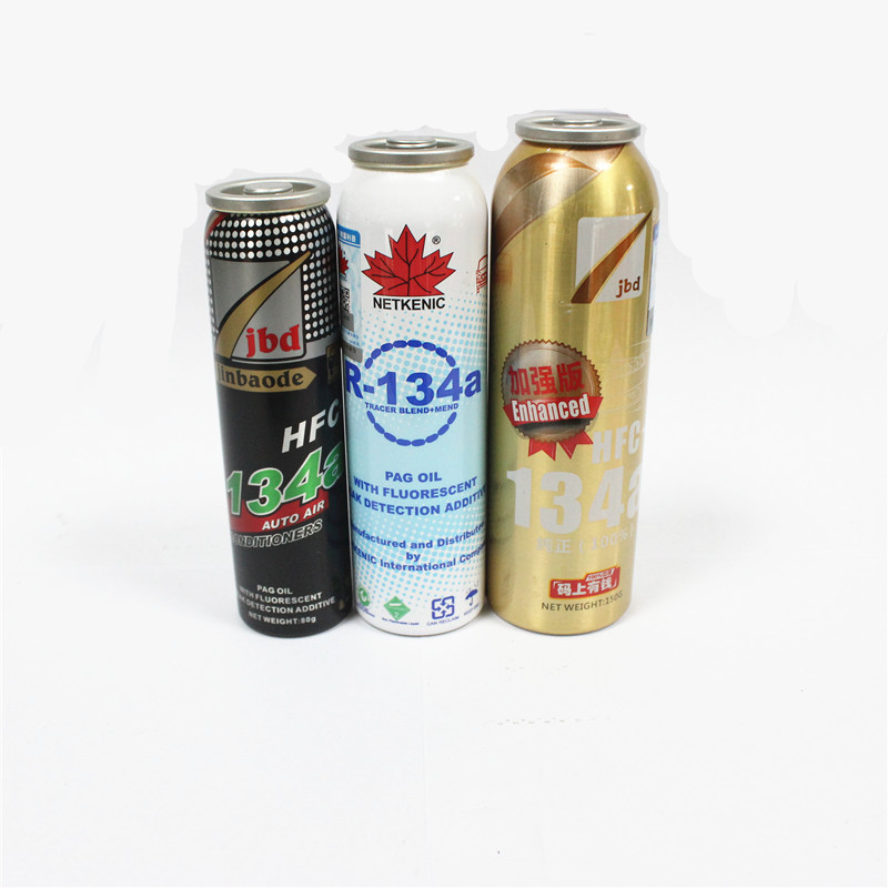 Aire acondicionado detener fugas con aceite PAG con aditivo fluorescente de tinte UV para sistema de aire acondicionado