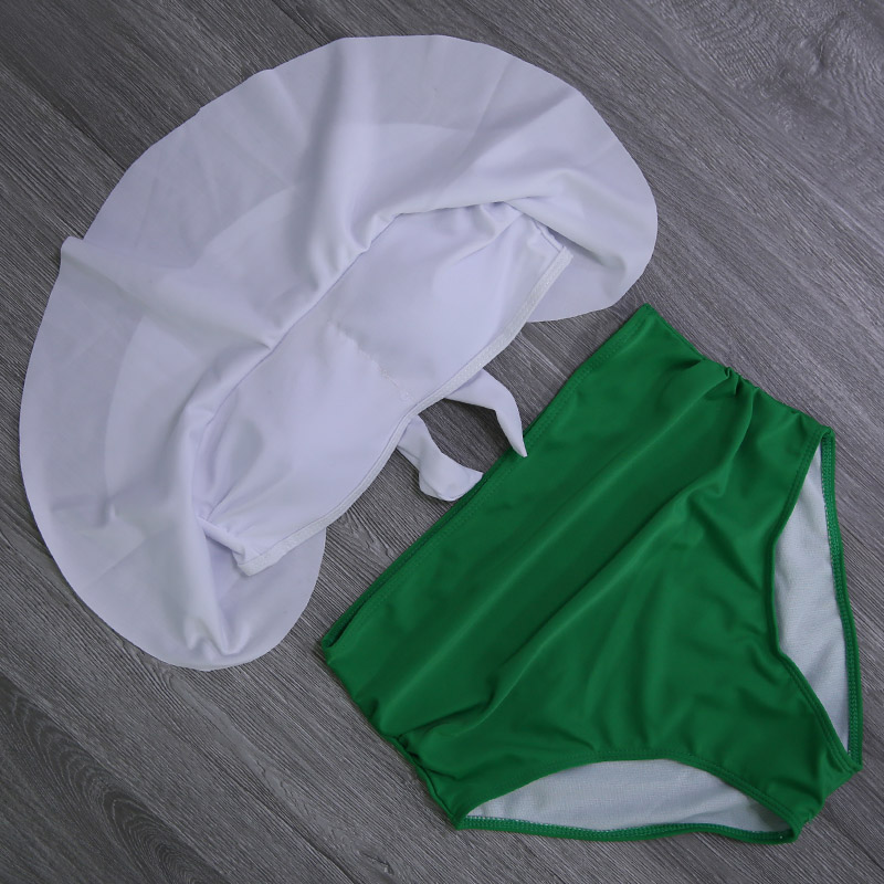 HTB1Huola7H0gK0jSZPiq6yvapXak 2019 New Bikinis Women Swimsuit High Waist Bathing Suit Plus Size Swimwear Push Up Bikini Set Vintage Beach Wear Biquini