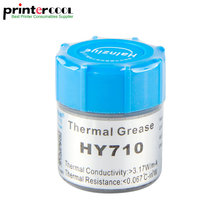 10g Heatsink Thermal Grease Thermally Conductive Silicone use for led beads soldering Computer CPU PC Compound Cooler Paste Tube 0 3ml conductive silver paint pen conductive pen for repair keyboard pcb circuit cpu thermally conductive silicone